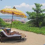 Super Entspannung am schönsten Strand Balis