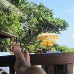 Relaxing pur-Wasser,Sorbet, kleine Aufmerksamkeiten-alles free of charge
