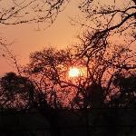 Lever de soleil du camp