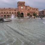 Großer Platz in Yerevan