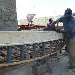 Construction d'un bateau de pêche