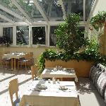 Le Jardin Frühstücksraum