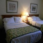 Comfortable beds but not pillow top