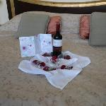 Gift from Toscana Inn Hotel for our anniversary