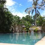 pool with vila
