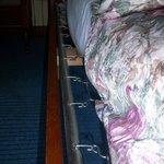 matelas trop court pour la taille du lit