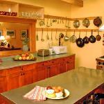 Our inspiring guest kitchen