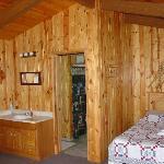 guest cabin interior