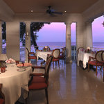 Sunset at L'Acajou at Sandy Lane