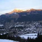 the mounting ski