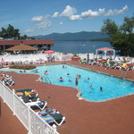 Lake George's Greatest Pool and Patio!