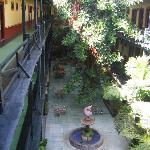 courtyard from second floor
