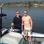 Daniel and my husband Eric