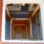 les 3 étages vus de la terrasse