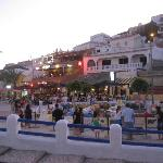 The square by the beach