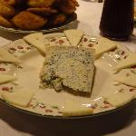 The famous Queso de Cabrales itself