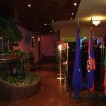 The Residencial Aeroporto-Breakfast room.