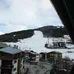 slope from our room