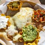 Delicious Nachos at Villa Del Arco Beach
