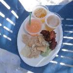 Food at Pasion Island