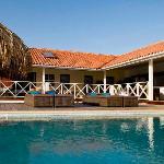 the private pool at Villa Boca