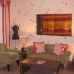 sitting area of our Jr Suite