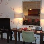 working area of the Jr Suite but internet is chargeable