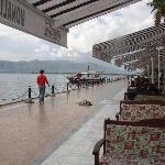 pleasant restaurants dotting the huge lake