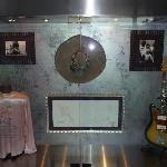 Memorabilia that was throughout the Hotel, this was Hendrix memorabilia.