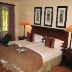 Schöne Zimmer mit Wohlfühlatmosphäre