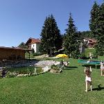 Garten mit Badeweiher