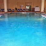 Excellent saltwater lap pool