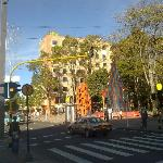 Vista del hotel desde el Parque El Virrey