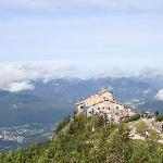 View from above Kehlsteinhaus (Eagles Nest)