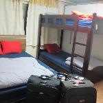 family room - double bed and double deck