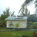 A bungalow, falling apart BWIR Efate