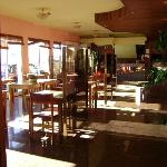 The Residencial Aeroporto-Breakfast room
