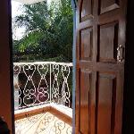 Balcony door