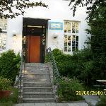 Eingang zum Hostel