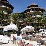 Hotel eigener Beachclub