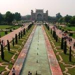View from the Taj itself