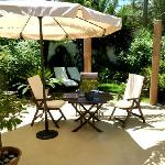 Haus Gardenia - Terasse - Sitzgruppe