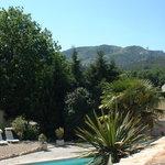 La Balancelle gites piscine face aux Alpilles...