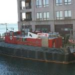 Partial view from room - interesting fire boats!