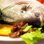 Der köstliche Fisch ...