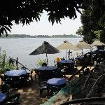 Lounging above the White Nile