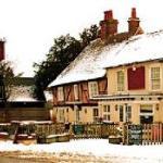 The New Inn winter