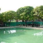 Adjacent public swimming pool