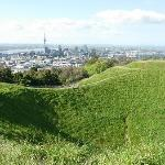 Mt. Eden, extinct volcano