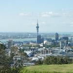 Central Auckland from Mt. Eden